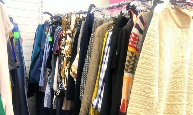 My Go-To Thrift Store Section: The Put-Back Rack