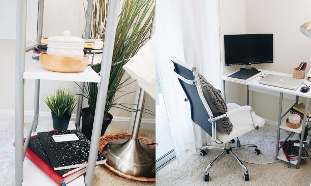 Creating a Cozy Space for My Home Office