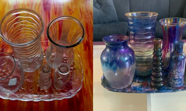 Plain Goodwill Vases Bloom Into Colorful Home Decor