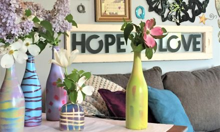 DIY: Transform Empty Bottles Into Spring Vases