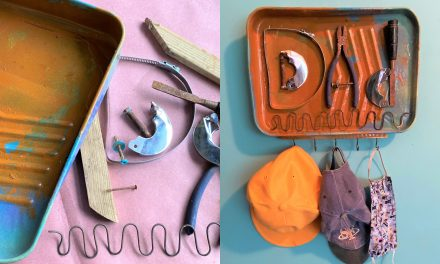 Father's Day DIY: Upcycled Key Holder