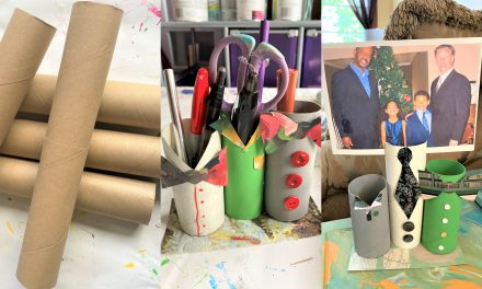 Father's Day DIY: Turn Empty TP Rolls Into Memo/Photo Holders in 5 Steps