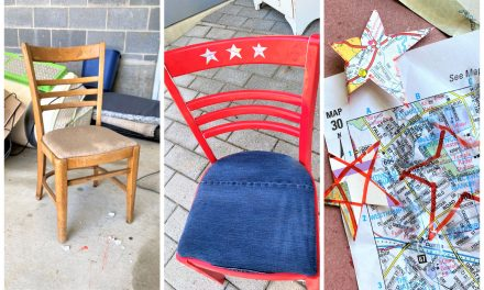 Summer DIY: Patriotic Chair