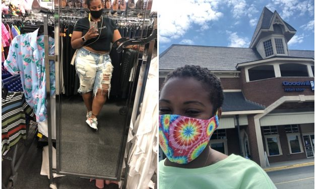 Post-COVID-19 Thrift Trip Recap: Amber's Finds at the Centreville and Manassas Goodwill Stores