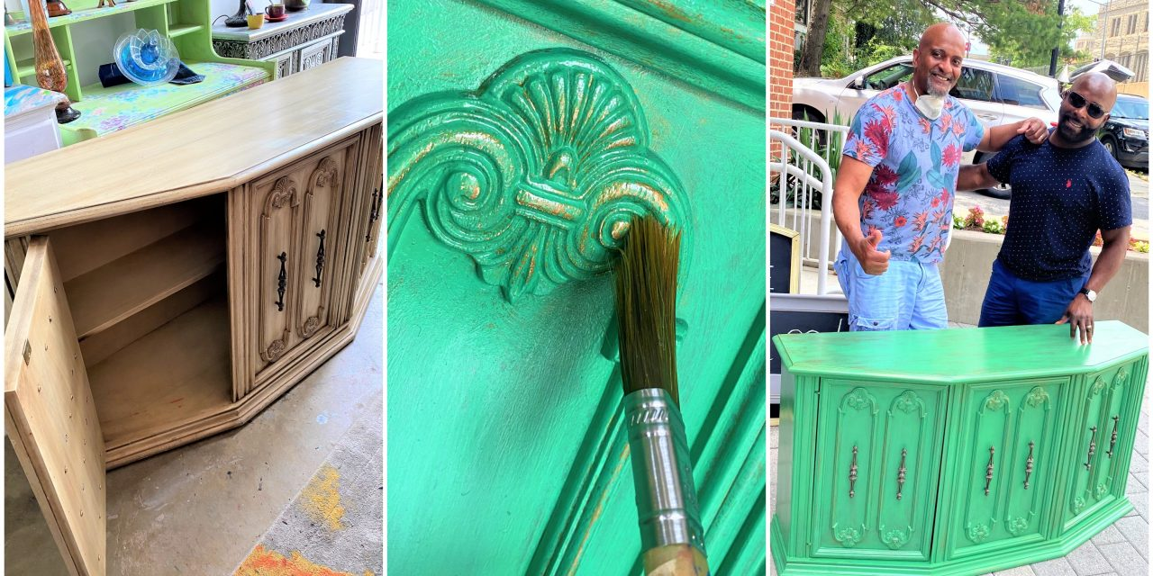DIY: Green & Gold Make It Bold