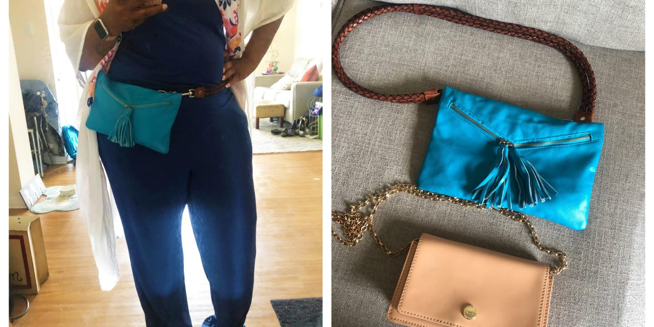 DIY: Thrifted Wallets to Cute Fanny Packs