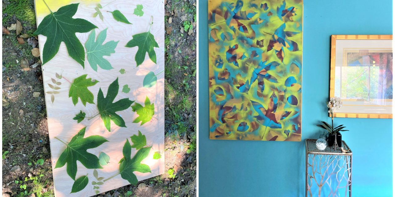 DIY: Don't Leaf Mother Nature Out of Your Artwork