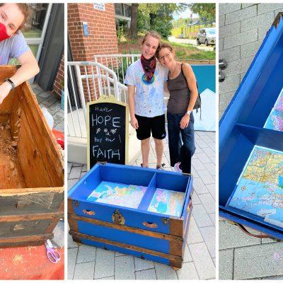 DIY: Repurposing an Heirloom Trunk is a Family Affair