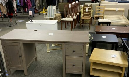 Who Knew A Goodwill Desk Could Make You Fall Back In Love With Your Home?