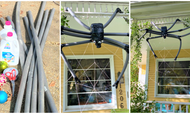 DIY Project: Spin a Web of Fun With Big Spiders & Beverage Containers