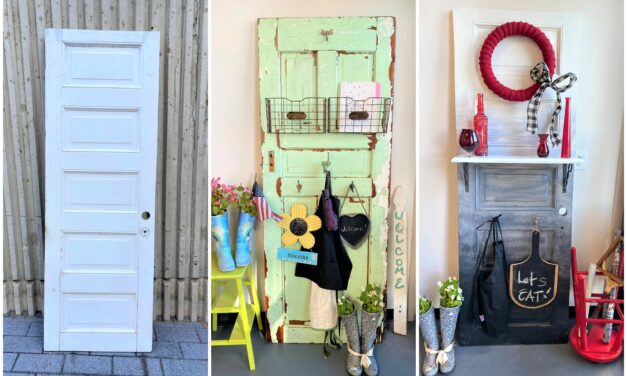 DIY: Open a New Door by Repurposing an Old One