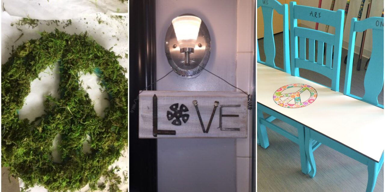 We All Need Some Peace & Love Now: 3 DIY Projects to Inspire Unity