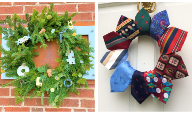 DIY: Upcycle Items to Create Memorable Wreaths