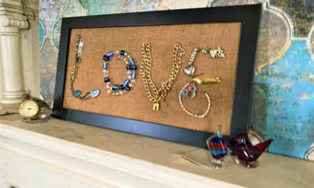 DIY: Repurposed Jewelry Signs