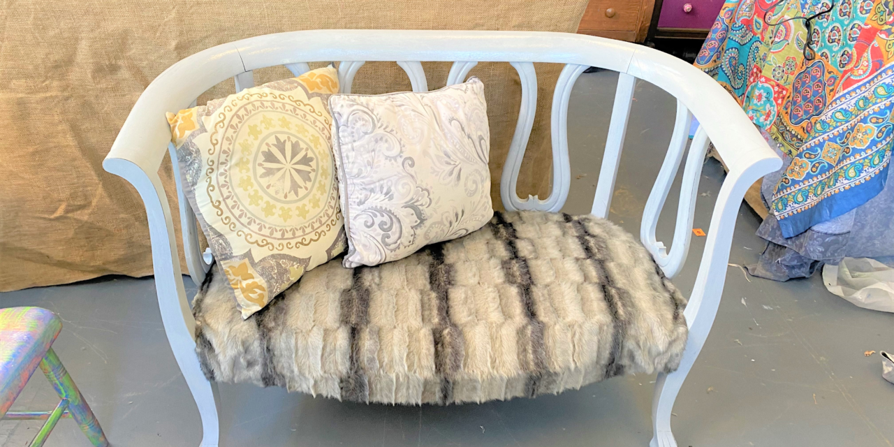 DIY Project: Faux Fur Makes Elegant Upcycle