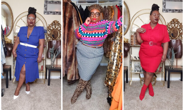 Plus Size & Thrifted Vintage Fashion