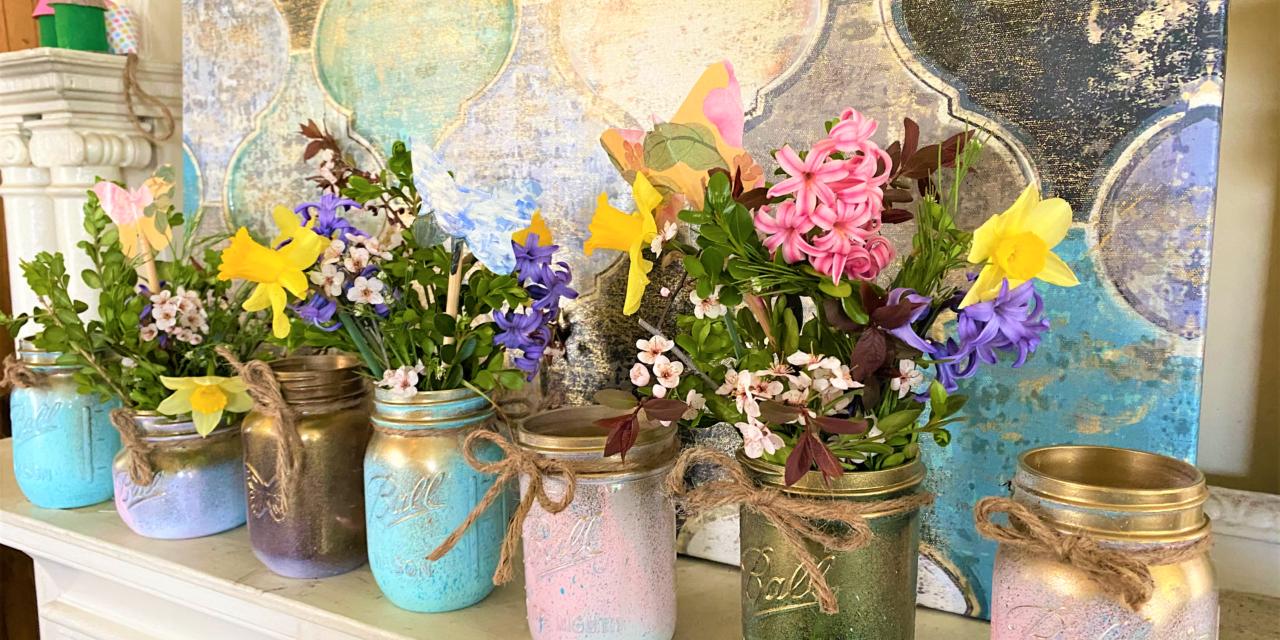 DIY Project: Mason Jar Magic for Moms, Marriages, Milestones