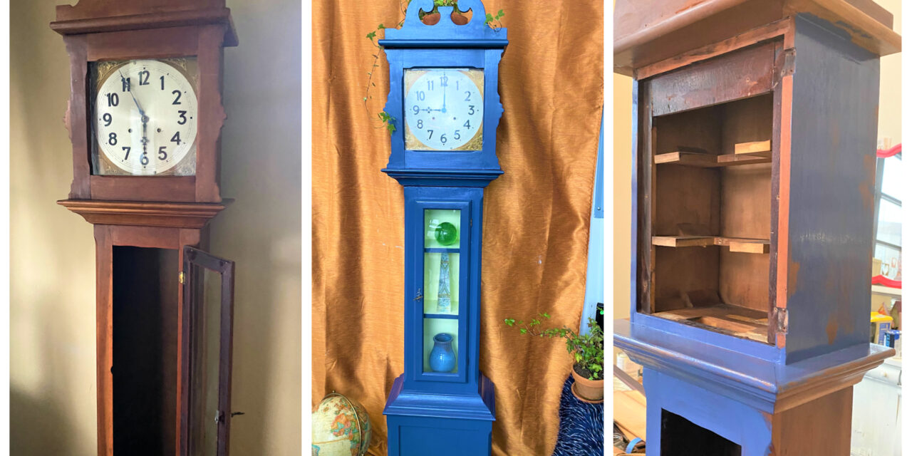 DIY: Let the Good Times Roll with an Upcycled Grandfather Clock