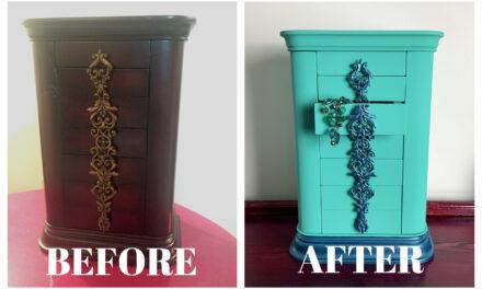 DIY Project: A $10 Jewelry Box Glow Up
