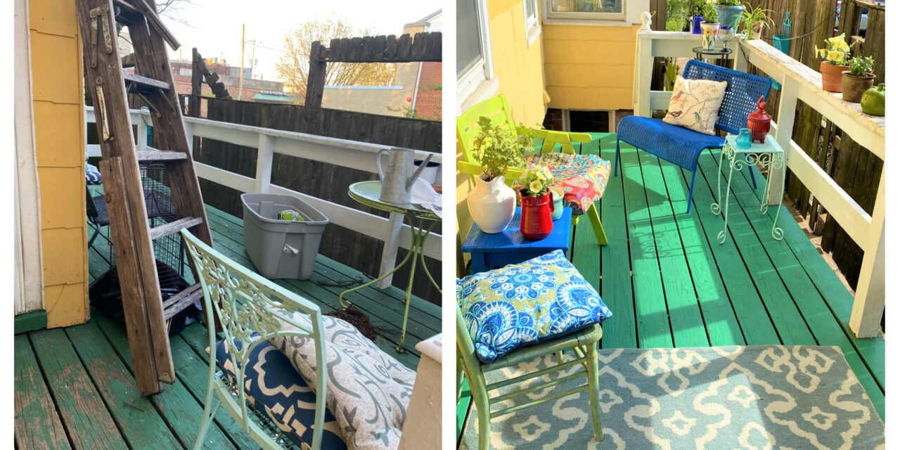 DIY Project: Transform a Disaster Deck Into an Outdoor Oasis