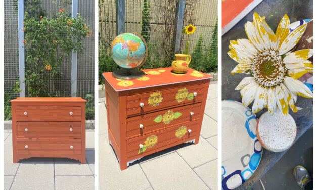 DIY Project: Stamp Some Summer Style Using Sunflowers