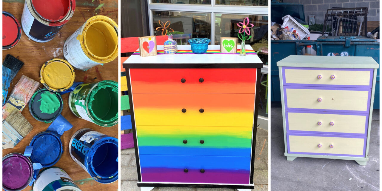 DIY Project: Upcycle a Drab Dresser Into a Piece of Pride