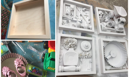 DIY Project: Repurpose Items Into Shadow Box Art Pieces