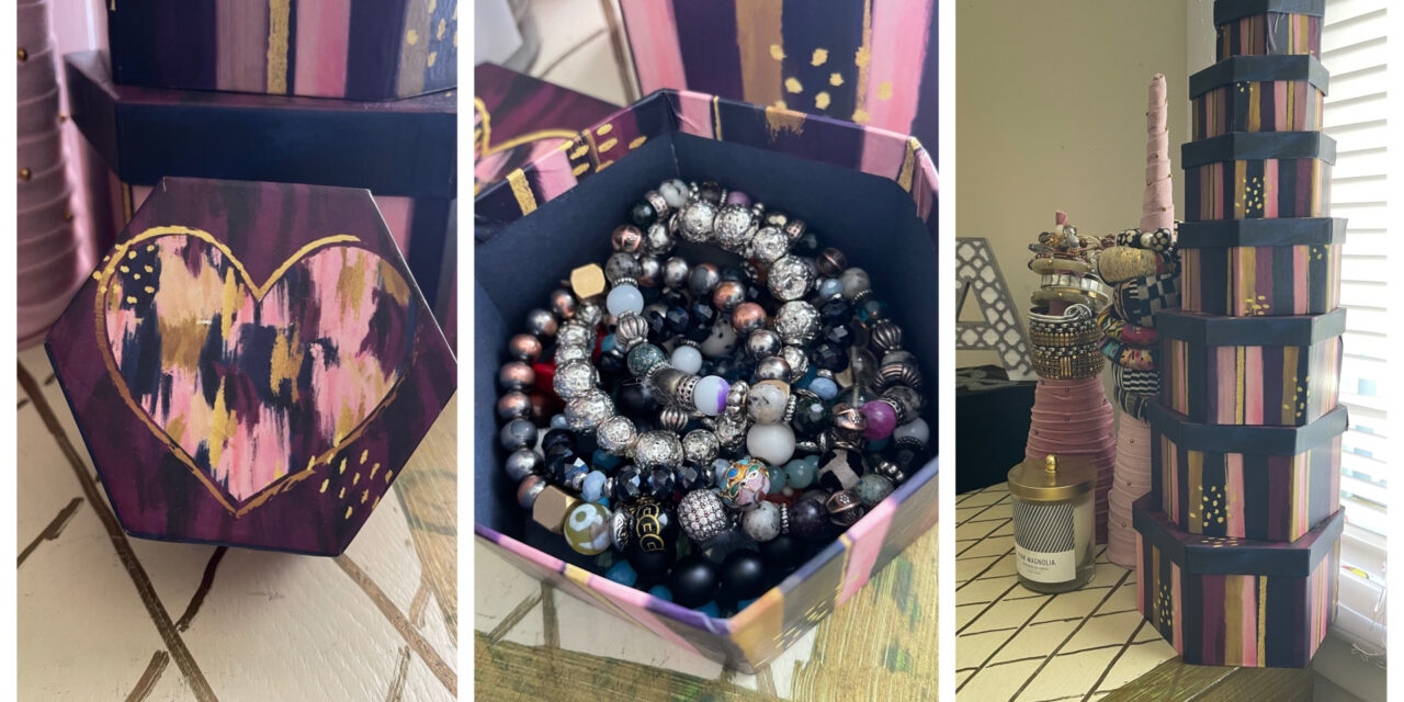 Unique Jewelry Storage for Less Than Three Bucks!