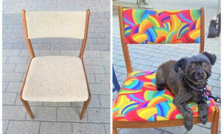 DIY: Find Fun Fabric for a Fab Flip