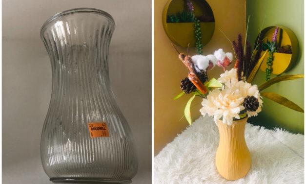 DIY: Faux Terra Cotta Vase