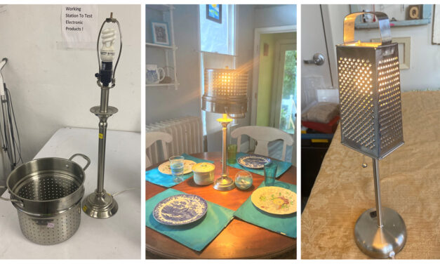 DIY: Create Cool & Quirky Lamps Using Graters & Colanders