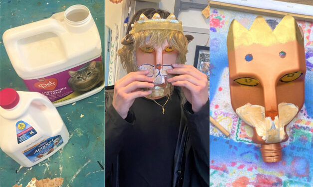 Halloween DIY: Create Scarily Cool Masks with Repurposed Items